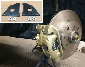 Fiat 126 Front brake Disc Conversion Plates & spacers 4x98 PCD