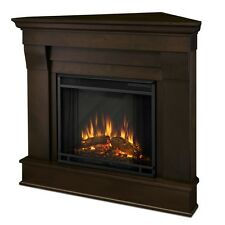 Real Flame Chateau Electric Fireplace- Dark Walnut - 5950E-DW NEW