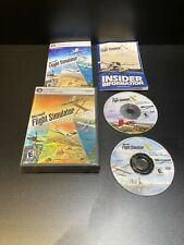 MICROSOFT FLIGHT SIMULATOR X DELUXE EDITION COMPLETE W/ PRODUCT KEY FREE SHIP