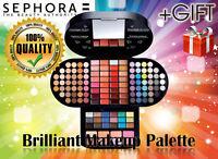 Sephora Brilliant Makeup make up eyeshadow,lip gloss eye shadow Palette,giftVeet