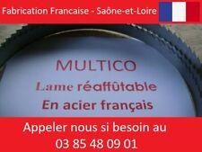 2 x Lame de scie à ruban 2120mm largeur 20mm  KITY 612 REAFFUTABLE FRANCAISE