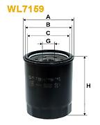 Genuine Wix Oil Filter WL7159 for Honda Legend Honda NSX Rover 827 see list
