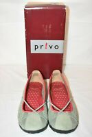 Privo by Clarks Women's Leather On Slip Shoes Aloe Hop Privo Penny Size 6M