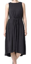 NEW The Limited Women's Summer Drawstring Midi Dress Size XL $69 Retail