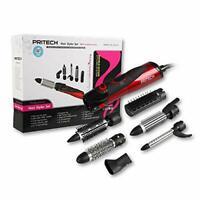 Pritech coffret brosse électrique soufflante 6 accessoires 1000 watts