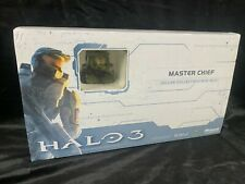 "GENTLE GIANT XBOX HALO 3 MASTER CHIEF GREEN SPARTAN"" DELUXE MINI BUST STATUE SET"