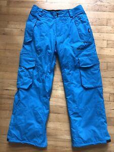 Burton Snow Pants Armada Size S Blue