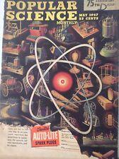 Popular Science Magazine 75th Anniversary May 1947 082817nonrh2