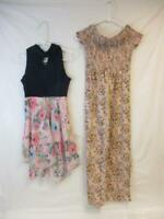 Lot of 2 Girl's Clothing Items Size 10 Art Class Romper Lilt Summer Dress Floral