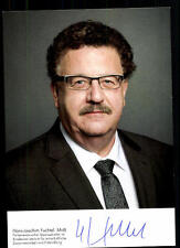 Hans Joachim Fuchtel Autogrammkarte Original Signiert ## 38049