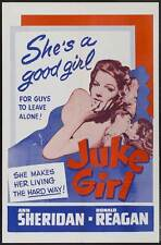 JUKE GIRL Movie POSTER 27x40 B