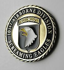 US ARMY 101ST AIRBORNE DIVISION PATRIOTIC SERIES CHALLENGE COIN 1.6 INCHES NEW