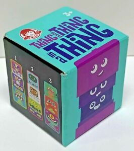 Wendy's THiNG in a THiNG in a THiNG 2019 Kids Meal Toy 3+ Stacking Blue Teal