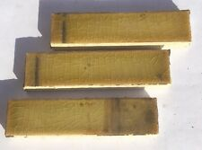 1x4 Antique Tile in Yellow/Olive -1 Piece- Salvaged