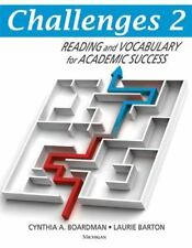 Challenges 2 : Reading and Vocabulary for Academic Success by Laurie Barton and…