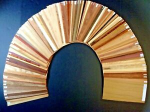 Wood Veneer Sample kit with over 125 different types. Largest in existence