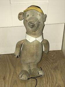 Well-Loved Vintage 1960s Merrythought Yogi Bear