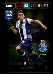 Panini 365 Adrenalyn XL 2017 Héctor Herrera FC Porto FANS: Favourites No. 76