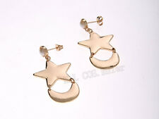 Hot SAILOR MOON Crescent Star Dangle earrings Cosplay COSTUME NEW Pierced Clip