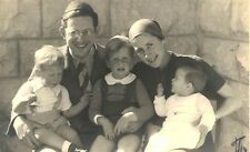 RPPC,Israel,A Jewish Family,Middle East,Holy Land,c.1950s
