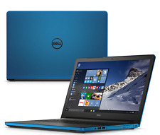 """DELL INSPIRON 15.6"""" gaming LAPTOP 2.4Gh UPGRADED w/ 1TB HDD DVD/RW Win 10 Blue"""