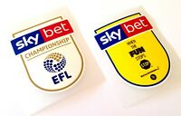 2018-19 Sky Bet EFL CHAMPIONSHIP Official PS-Pro Football Badge Patch Set