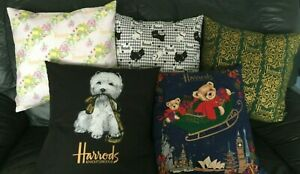 Harrods Westie or asst Hand Made Cushion Cover