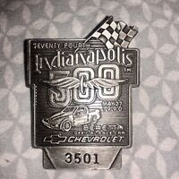 1990 INDY 500 Silver Badge Penske/Mears Family