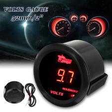 2'' 52mm Universal Car Digital Red LED 0-15V Volt Voltmeter Voltage Gauge Meter