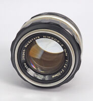 Nippon Kogaku Nikkor 50mm F1.4 Manual Lens USER QUALITY TESTED!