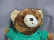 I LOVE GIRL SCOUTS 2000 BROWN TEDDY BEAR GREEN T-SHIRT CROWN PLUSH STUFFED SOFT