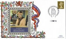 1 MARCH 2006 HM THE QUEEN OPENS THE WELSH ASSEMBLY BENHAM COVER ROY 181 SHS