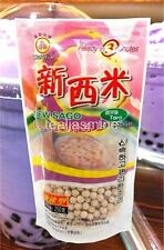 TaroTapioca Pearl Boba Bubble Tea WuFuYuan Ready in 5 Minutes 8.8 Oz.