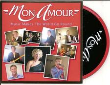 MON AMOUR - music makes the world go round CD SINGLE Europop 2011 (BZN) Holland