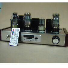 Finished 6L6+6P3P tube amplifier with USB MP3 decoder vacuum tube amp