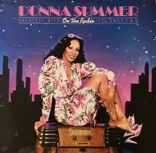 DONNA SUMMER ‎- On The Radio: Greatest Hits Volumes I & II (LP) (VG/G-) (2)