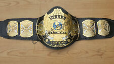 WWF ***DUAL PLATED 4MM*** Winged Eagle Wrestling Championship Metal Replica Belt