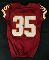 #35 of Washington Redskins NFL Game Issued Player Worn No Nameplate Jersey
