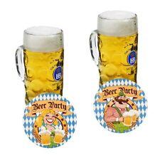 10x TAPPETINI Birra Oktoberfest Bavarese birra tedesca Decorazione Festa Birra Pub Party