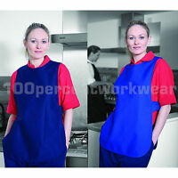 Warrior TA46 Polycotton Tabard Apron Cafe Catering Bar Restaurant Cleaning New