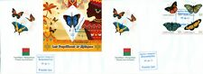 AFRICAN BUTTERFLIES INSECTS FAUNA MADAGASCAR FDC FIRST DAY COVERS SET