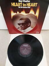 "Ray Charles – Heart To Heart Vinyl 12"" LP RAYTV 1 1980"