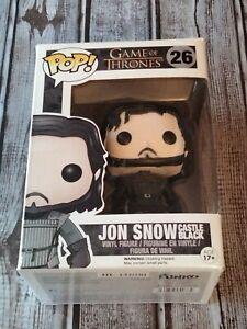 Funko POP! Game of Thrones Jon Snow Vinyl Figure 26 Castle Black HBO