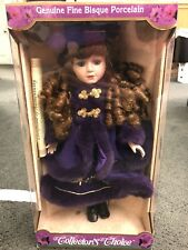 Collector's Choice Genuine Fine Bisque Porcelain Doll New in Box