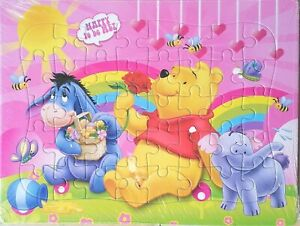 Disney Winnie the Pooh 40-Piece Drawing Jigsaw Puzzle Best Gifts Toys for Kids