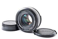 "Nikon Nikkor 50mm F/1.8 Ai-s Ais Pancake Manual Focus Lens ""Exc"" from JAPAN"