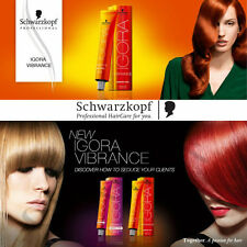 schwarzkopf igora vibrance hair color 60ml semi permanent tone on tone dye