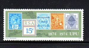 SOUTH AFRICA #407  1974  UNIVERSAL POSTAL SYSTEM      MINT VF NH