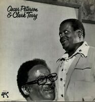 Oscar Peterson Clark Terry LP Pablo Records 1975, 2310-742, Self-titled ~ NM-!