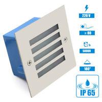 Lampe Encastrable LED Mur Niveaux Escalier Éclairage Lampe Extérieur IP65
